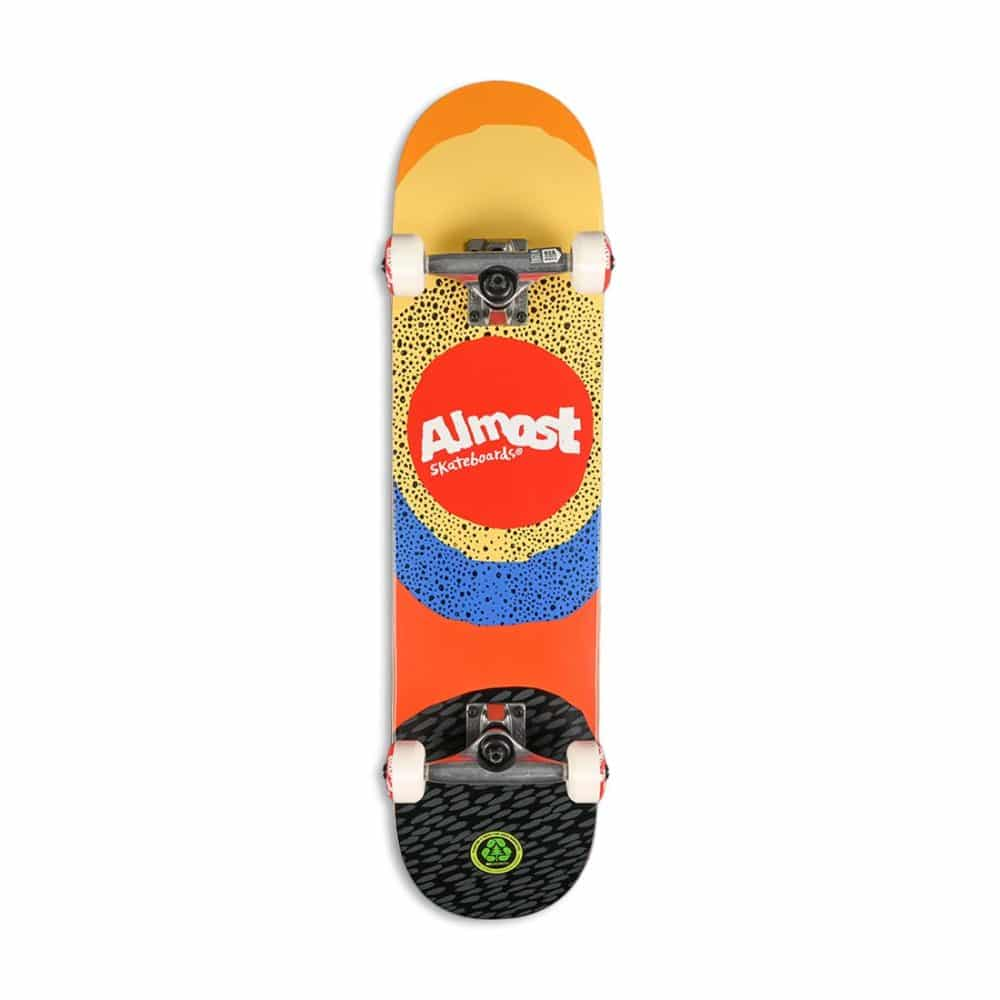 """Almost Radiate FP 7.5"""" Complete Skateboard - Yellow"""