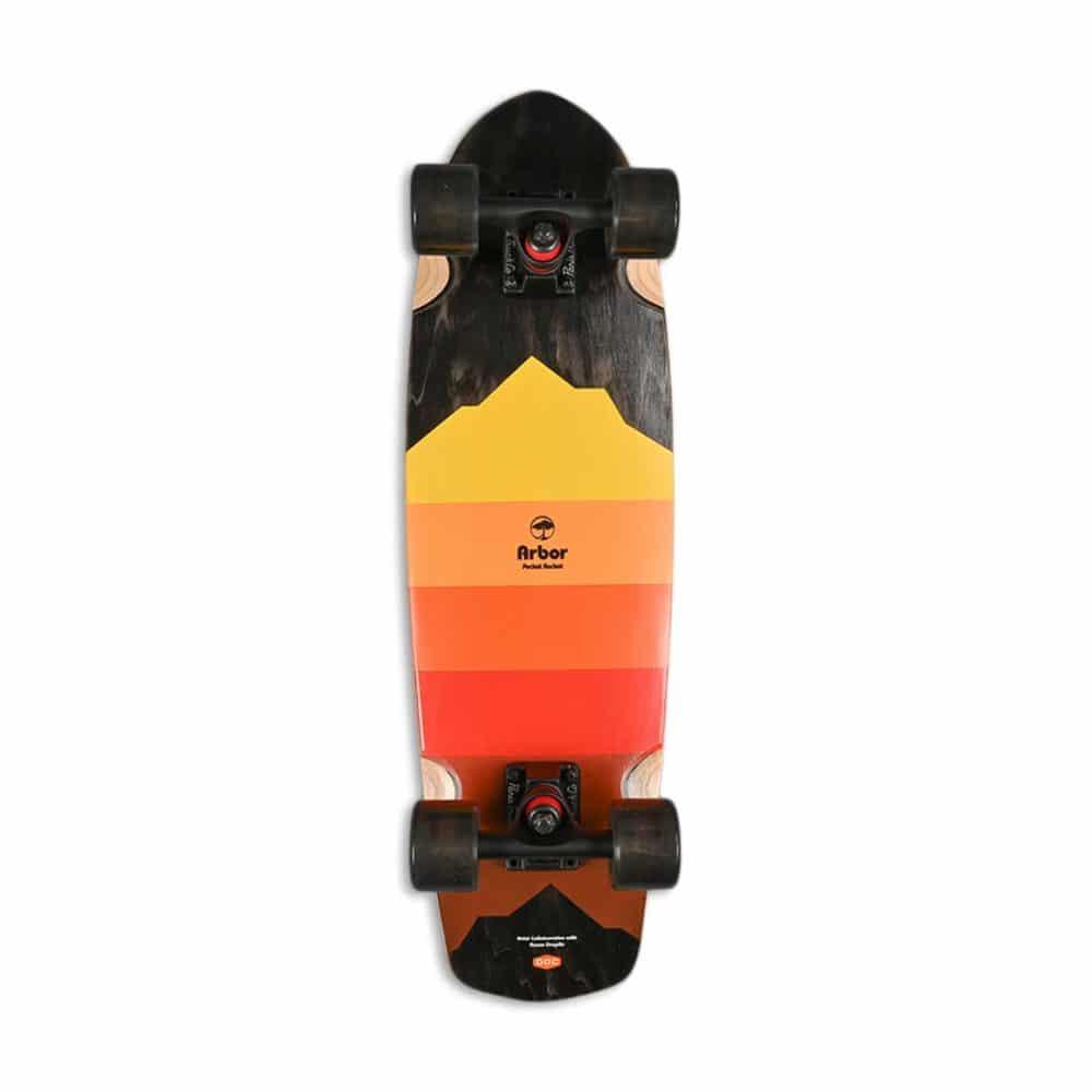 """Arbor Pocket Rocket Artist 27"""" Cruiser Skateboard"""