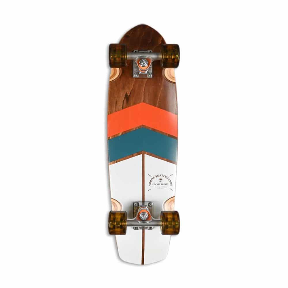 """Arbor Pocket Rocket Foundation 27"""" Cruiser Skateboard"""