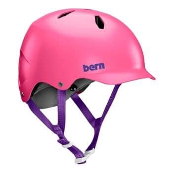 Bern Bandito EPS Youth Helmet - Satin Pink