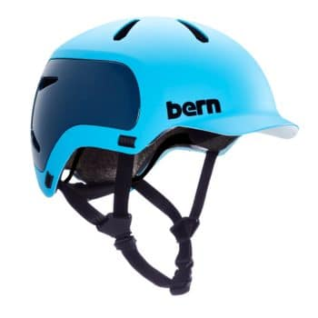 Bern Watts 2.0 EPS Helmet - Matte Ocean Blue