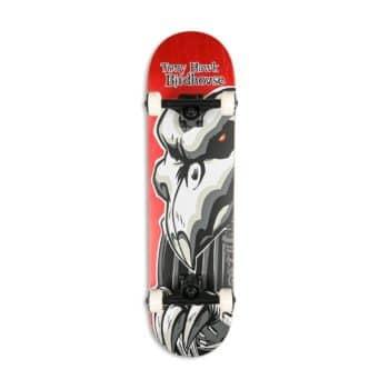 "Birdhouse Tony Hawk Falcon 2 8"" Complete Skateboard - Red"