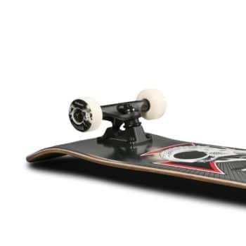 "Birdhouse Tony Hawk Skull 2 7.75"" Complete Skateboard - Chrome"