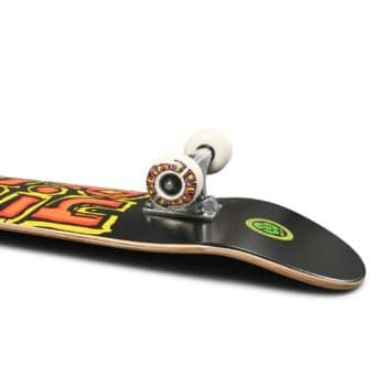 "Blind OG Stacked FP 7.5"" Complete Skateboard - Black/Yellow"
