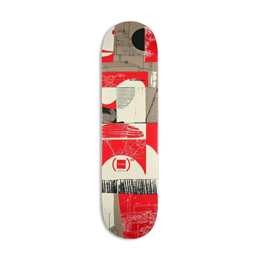 Chocolate (RED) W41 Kenny Anderson Skateboard Deck