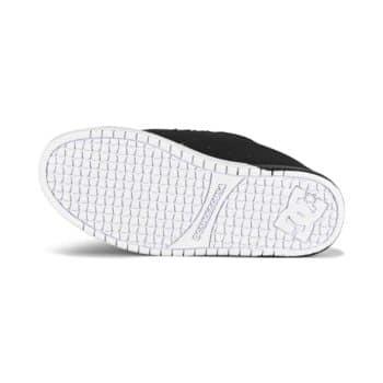 DC Court Graffik Skate Shoes - Black/White/Black