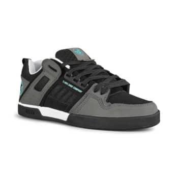 DVS Comanche 2.0+ Skate Shoes - Black/Charcoal/Turquoise