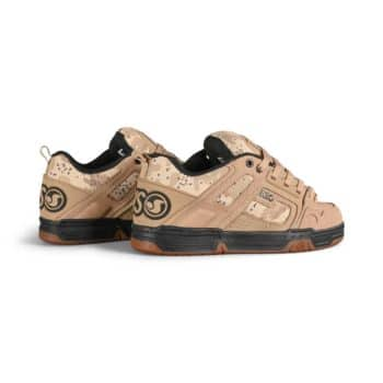 DVS Comanche Skate Shoes - Tan/Camo/Black