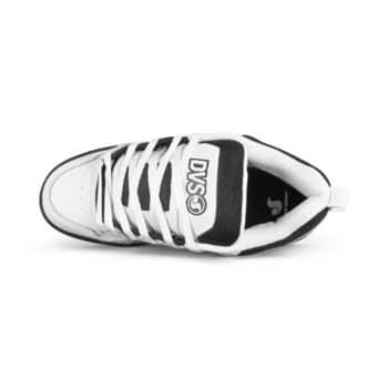 DVS Comanche Skate Shoes - White/Black/White Leather