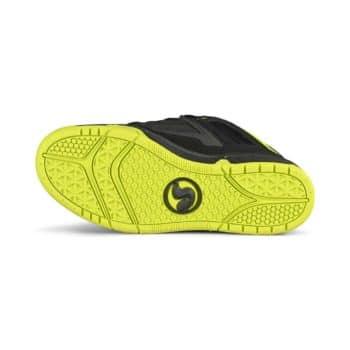 DVS Gambol Skate Shoes - Black/Lime Nubuck