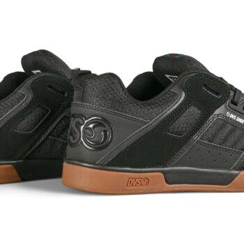 DVS Comanche 2.0+ Skate Shoes - Black Nubuck/Reflective/Gum