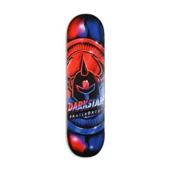 """Darkstar Anodize HYB 8"""" Skateboard Deck - Red/Blue"""