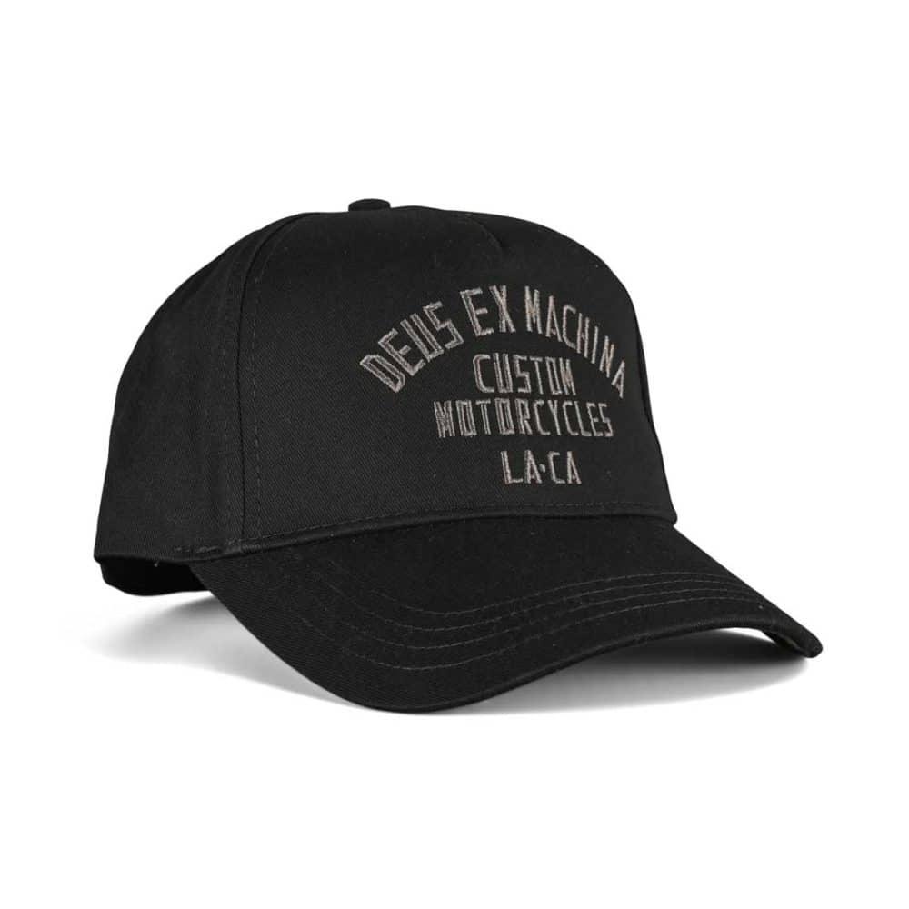 Deus Ex Machina Buffalo Trucker Cap - Black