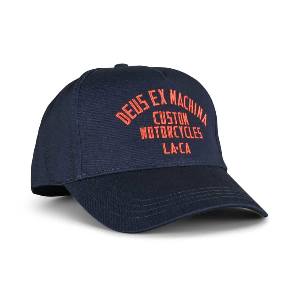 Deus Ex Machina Buffalo Snapback Cap - Navy