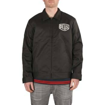 Deus Ex Machina LA Workwear Jacket - Black