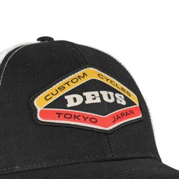 Deus Ex Machina Loco Trucker Cap - Black