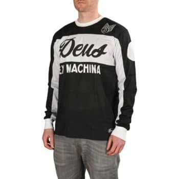 Deus Ex Machina Saber L/S Moto Jersey - Black