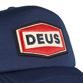 Deus Ex Machina Speed Stix Trucker Cap - Navy