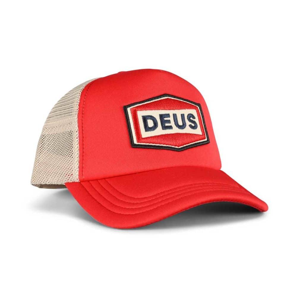 Deus Ex Machina Speed Stix Trucker Cap - Red