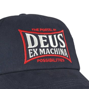 Deus Ex Machina Twinbox Trucker Cap - Petrol Blue