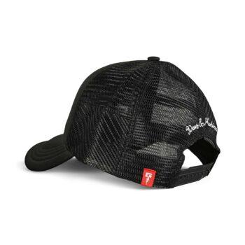 Deus Ex Machina Ibiza Address Mesh Back Trucker Cap - Black