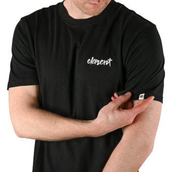 Element Henke S/S T-Shirt - Flint Black