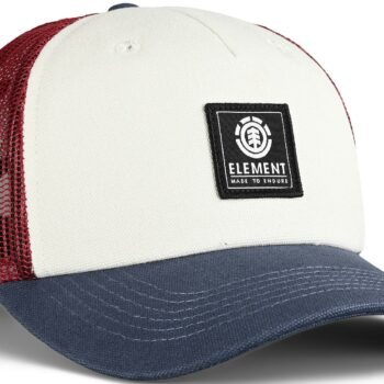 Element Icon Mesh Trucker Cap - Vintage Red