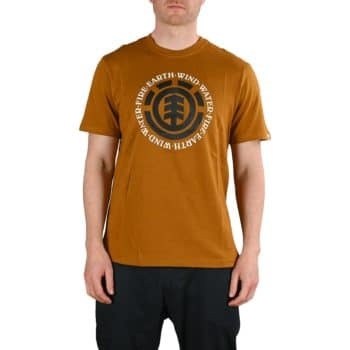Element Seal S/S T-Shirt - Gold Brown