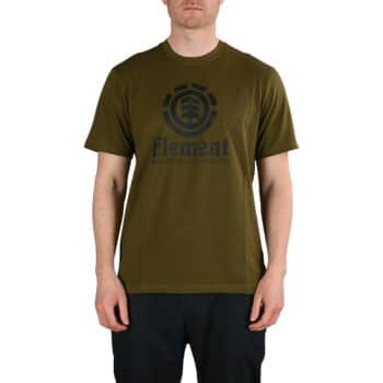 Element Vertical S/S T-Shirt - Army