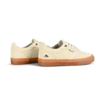 Emerica Dickson Skate Shoes - White/Gum