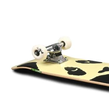 "Enjoi Misfit Panda FP 7.625"" Complete Skateboard - Black"