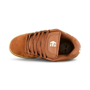 Etnies Fader Skate Shoes - Brown/Beige/Gum
