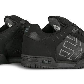 Etnies Faze Skate Shoes - Black Dirty Wash