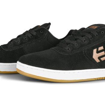 Etnies Joslin Skate Shoes - Black/Tan