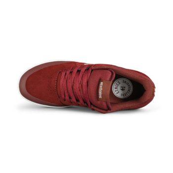 Etnies Marana Skate Shoes - Maroon/White