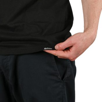 Etnies New Box S/S T-Shirt - Black/White