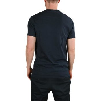 Etnies New Box S/S T-Shirt - Navy/Orange