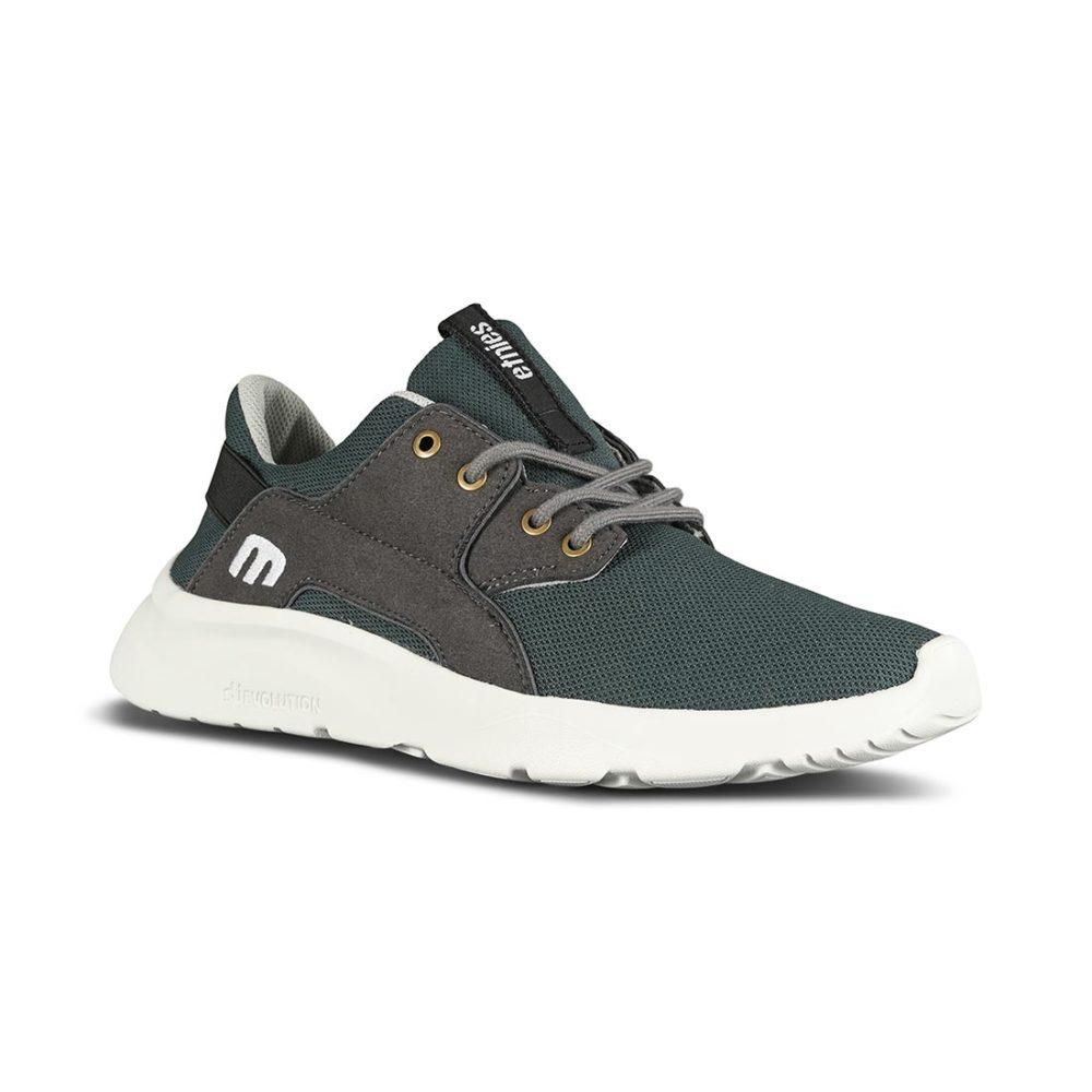 Etnies Scout Plus Shoes - Dark Grey/Grey