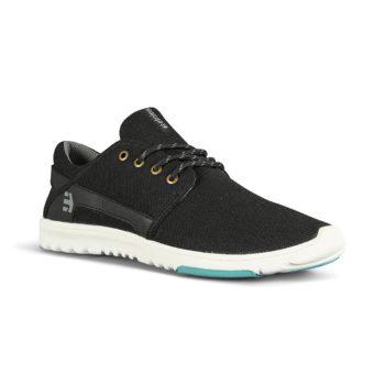 Etnies Scout Shoes - Black/Grey/Blue