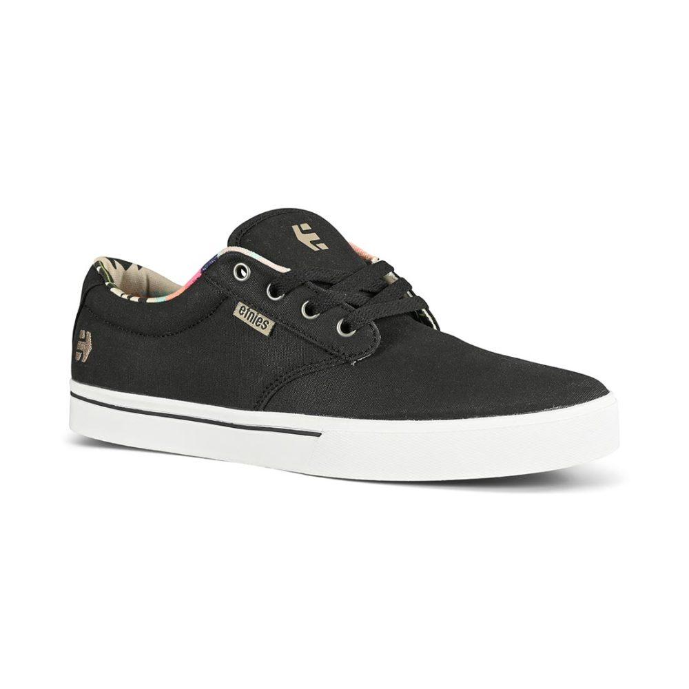 Etnies Jameson 2 Eco Skate Shoes - Black/White/Navy