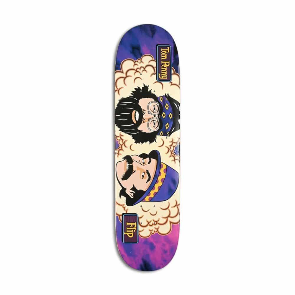 """Flip Tom Penny Friends 8.13"""" Skateboard Deck - Purple Haze"""