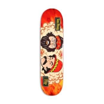 "Flip Tom Penny Friends 8"" Skateboard Deck - Orange Sunset"