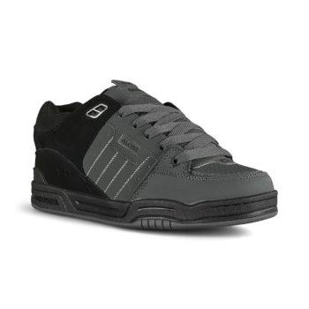 Globe Fusion Skate Shoes - Dark Shadow / Black Split