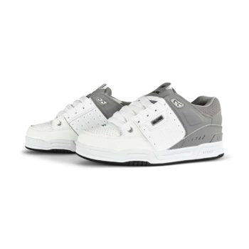 Globe Fusion Skate Shoes - White / Grey Split
