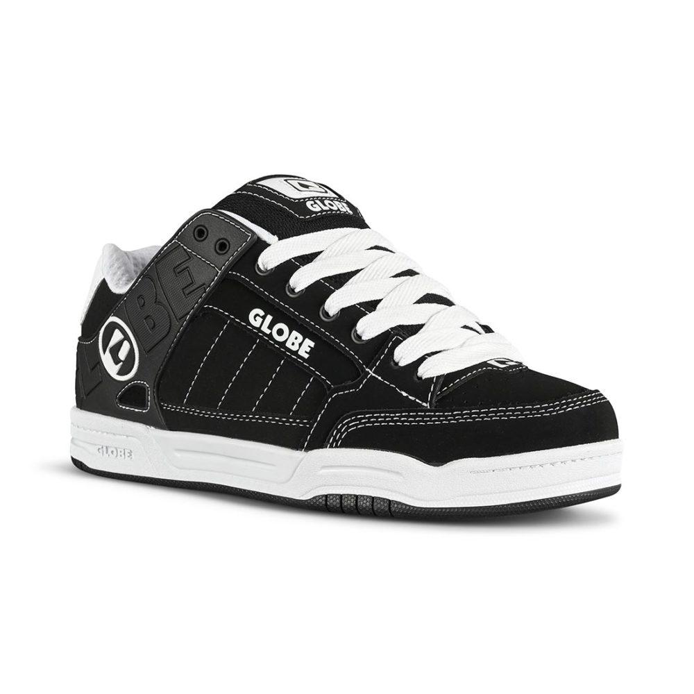 Globe Tilt Skate Shoes - Black/White/Black
