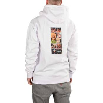 HUF x Street Fighter Arcade Pullover Hoodie - White