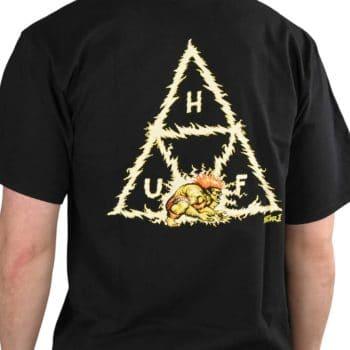 HUF x Street Fighter Blanka TT S/S T-Shirt - Black