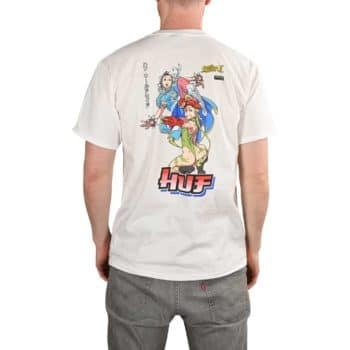 HUF x Street Fighter Chun Li & Cammy S/S T-Shirt - White