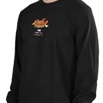 HUF x Street Fighter Ending L/S T-Shirt - Black