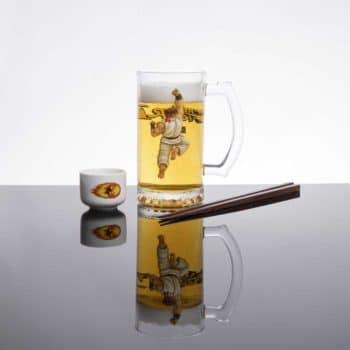 HUF x Street Fighter Sake Bomb Set - Glass